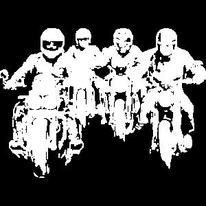 Bikergroup white