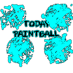 today paintball blue