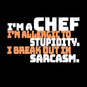 Meisterkoch der Gastronomie, Spruch eines Chefkoch