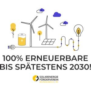 100% Erneuerbare 2030
