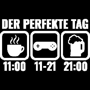 Gamer Tagesplan