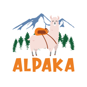 Alpaka wanderung Lama Geschenk