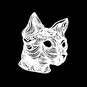 Moderne Mandala Katze,Geschenkidee Katzenliebhaber
