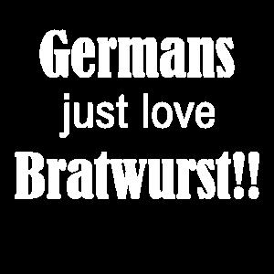 Germans just love Bratwurst