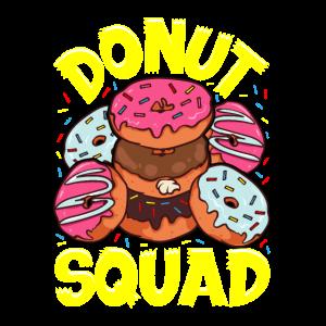 Lustiger Donut Squad Netter Donut besessen