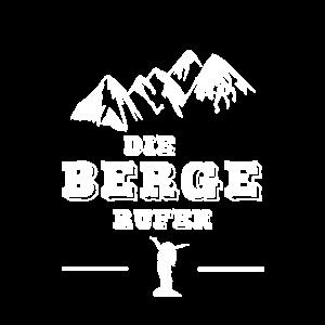 Berge Wandern rufen