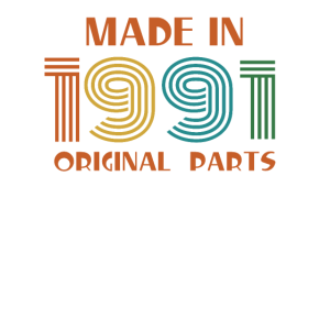 Geburtstag 1991 All Original Parts