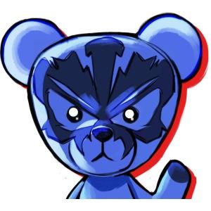 Gorra Peluche Azul