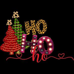 Ho Ho Ho Weinachts Frohes Fest Weihnachten