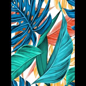 Blätter Bunt Farbe