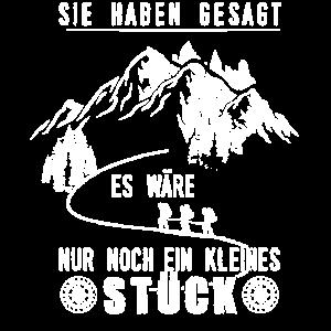 Wandern Wanderer Gebirge Geschenk