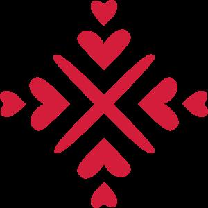Herz Dekor Ornament
