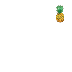 Psycho Pineapple Custom Graphic Distressed Gift