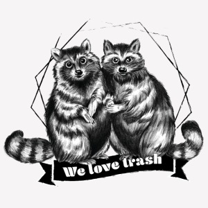 Racoon – We love trash