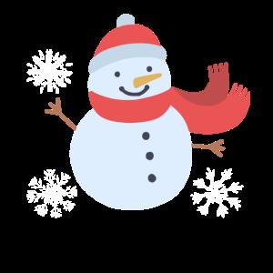 Winter Schneemann Schneemann
