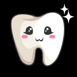 weiß Zahn