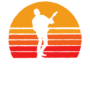 E-Guitar Sunset