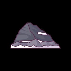 Felsiger Berggipfel