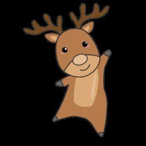 Rentier Waldtiere süße Tiere für Kinder