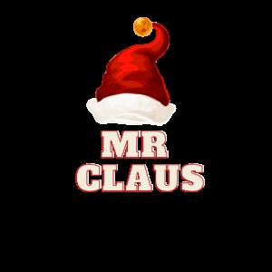 Herr Claus personalisierte Geschenkfamilie