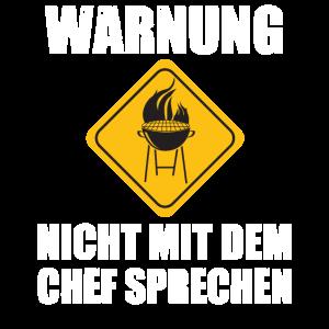 WARNUNG nicht mit dem Chef sprechen