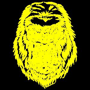 gorilla 1 gelb