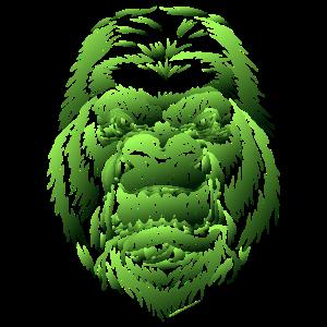 gorilla 1 gruen farbverlauf