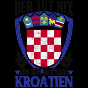Der tut nix Der will nur nach Kroatien Urlaub