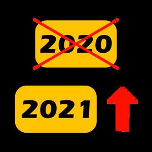Neujahr Silvester 2021