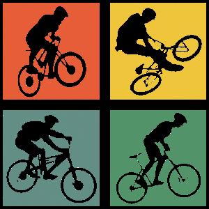 Mountainbike Fahrrad Radsport