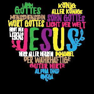 Jesus Christus Herz Geschenk für Christen