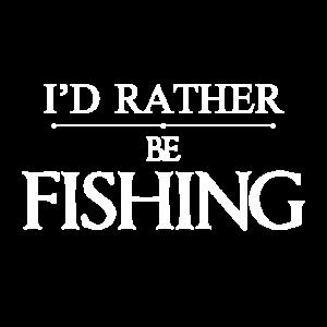 Ich wünschte, ich würde fischen