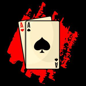 POKERN Geschenk Pokerspieler für Poker Spieler