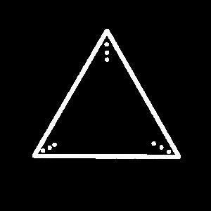 Dreieck Punkte Berg Abstrakt