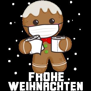 Lebkuchenmann Gingerbread man Mask 2020
