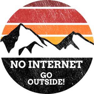 not internet go outside