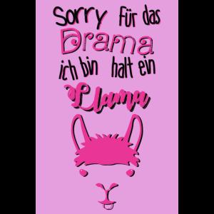 Sorry für das Drama ich bin halt ein Llama.