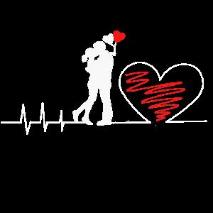 Heartbeat Liebespaar