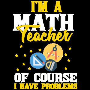 I'm A Math Teacher Mathematics Subject Algebra Equ