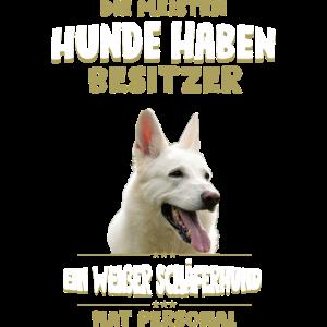 Weisser Schäferhund Tshirt - Weisser Schäferhund