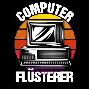 Computer Flüsterer Retro Gamer Gaming Geschenk