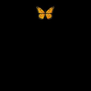 Butterfly Aesthetic - Orangener Schmetterling