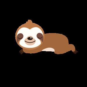 Faultiere Montag Faul Schlafen Sloth Chillen