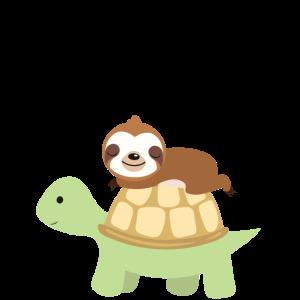 Faultiere Turbomodus Faul Schlafen Sloth Chillen