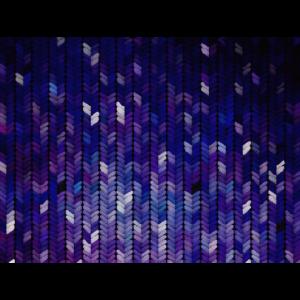 Strickmuster mit Nachthimmelfarben