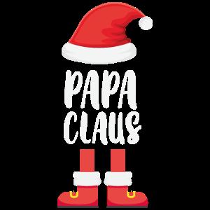 Lustiges Papa Claus Partnerlook Geschenk