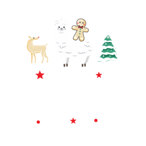 Alpaka Weihnachten - Lama Frohe Weihnacht Alpaca