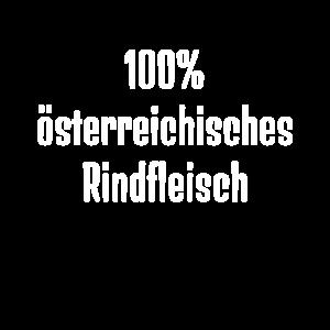 100% österreichisches Rindfleisch Fun Shirt