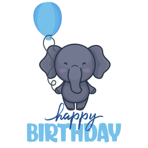 Happy Birthday Elefant