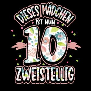 10. Geburtstag Mädchen Geburtstagsparty Geschenk